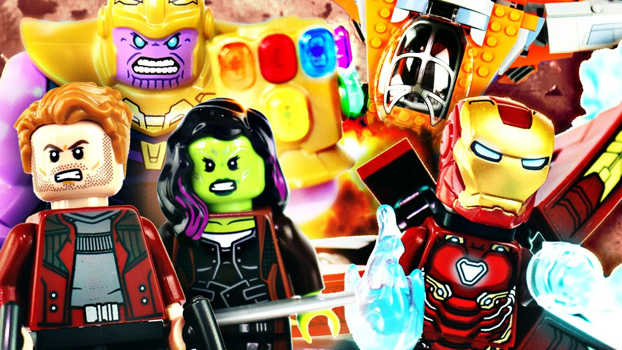 Lego Avengers Infinity War Thanos Ultimate Battle