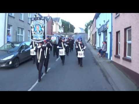 East Bank Protestant Boys FB @ Barron Accordion Band Parade 2017
