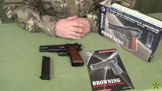 Обзор пистолета WE Browning Hi Power