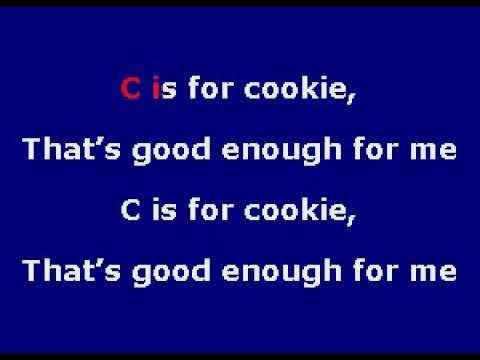 TU158 02 C Is For Cookie Children's Songs [karaoke]