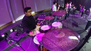 Mosaic MSC King Of All, Drum Cam, Jaymie Franco Evangel Christian Center