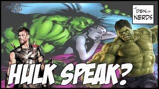 Hulk is Speaking! What Does it Mean For the MCU? Future Hulk Stories? World Breaker? Hulk Vs Thanos?