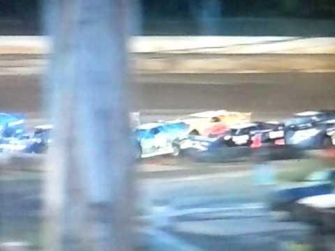 Hesston  Speedway 7/1/17 SLM Heat 1