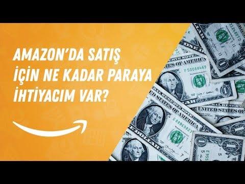 Amazon'da Satış İçin Ne kadar Paraya İhtiyacım Var