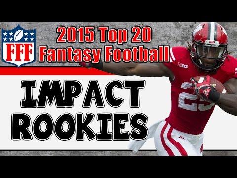 Preseason Top 20 Impact Rookies || 2015 Fantasy Football