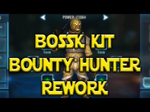 Bossk Kit Reveal Bounty Hunter Reworks l Star Wars: Galaxy Of Heroes -SWGOH