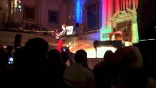 """""""Chasing Cars"""" (cover) - Andy Grammer - Worcester, MA - 12/10/12"""