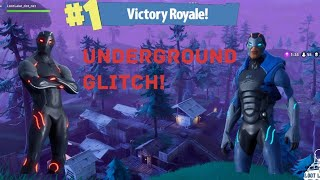 Underground Glitch At Shifty Shafts? (Fortnite Battle Royale)