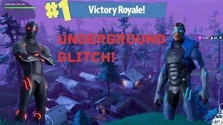 Glitch Underground em eixos Shifty? (Battle Royale do Fortnite)