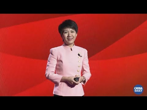 China Global Television Network host Liu Xin shared her work experience  in the new era