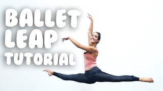 How To Do A Ballet Leap I Saut De Chat @MissAuti