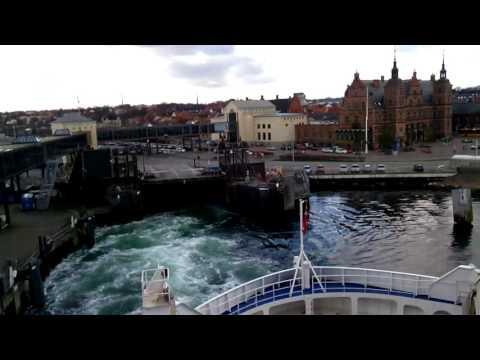 Ferry from Helsingør Denmark to Helsingborg Sweden