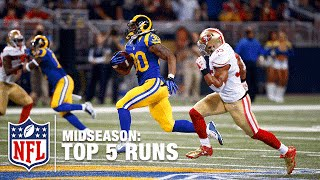 Top 5 Runs (Midseason) | Todd Gurley