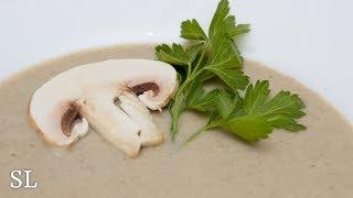 Как Приготовить Грибной Крем Суп за 15 Минут. Нежный и Безумно Вкусный. Рецепт.