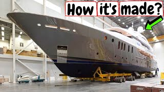 ▶️YACHT PRODUCTION LINE🚤💦: Manufacturing boats➕SuperYachts - How it´s made?