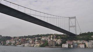 Мост через Босфор(Босфорский мост – это первый висячий мост, который был проложен через Босфорский пролив, он соединяет евро..., 2015-05-05T12:43:41.000Z)