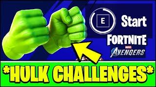 *NEW* FORTNITE FREE HULK SMASHERS PICKAXE & HOW TO UNLOCK/COMPLETE HARM CHALLENGES (AVEGNERS BETA)