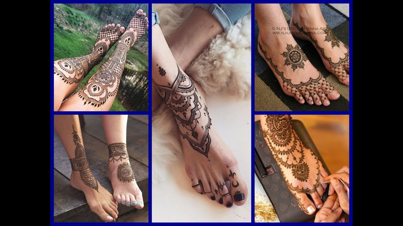 25 Beautiful Mehndi Designs For Legs New Mehndi Tattoo Designs