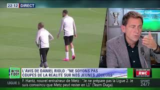 After Foot du mercredi 08/11 – Partie 1/6 - L'avis de Daniel Riolo sur les jeunes footballeurs