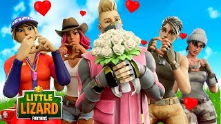 COMMENT GET A DATE ON VALENTINES DAY IN FORTNITE!!! - Court métrage Fortnite