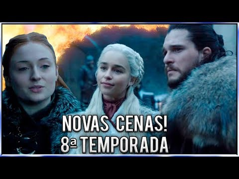 Novas Cenas Oficiais da 8ª Temporada de Game Of Thrones!
