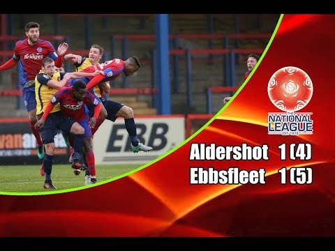 Aldershot Town - Ebbsfleet United 1-1 (4-5 Pens) 02-05-2018 Highlights National League