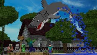 Monster School: Fishing - Minecraft Animation