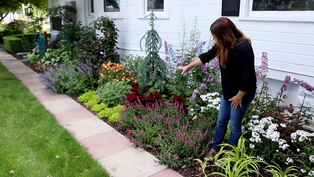 Tour Of Our West Side Garden Garden Answer Youtube