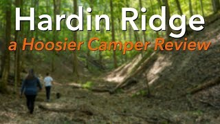 Review: Hardin Ridge Ręcreation Area & Campground