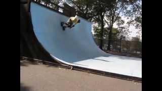 Half-pipe Riverside Skate Park NYC - Part 2