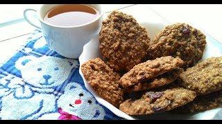 Рецепт овсяного печенья. Овсяное печенье за 15 минут!