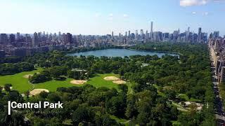 Central Park New york Drone 4k mavic pro dji