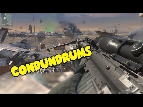 Call Of Duty Conundrums! - Call of Duty: Modern Warfare 2 (Funny Moments)