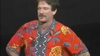 "Comic Relief ""Robin Williams"" Stand Up Comedy"