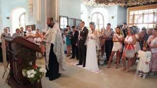 Андрей и Карина. Свадебный фильм.Венчание.