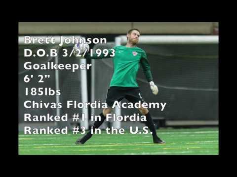 Brett Johnson Goalkeeper Highlights