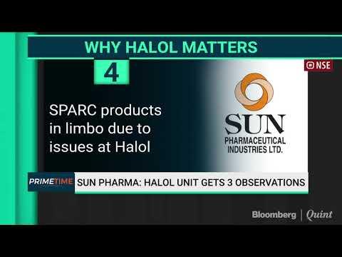 Sun Pharma: Halol Unit Gets 3 Observations