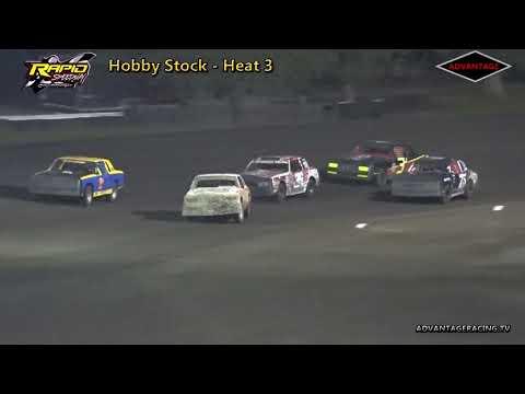 Hobby Stock Heats - Rapid Speedway - 9/14/18
