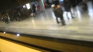 Station du RER C Saint Michel Notre Dame à Paris