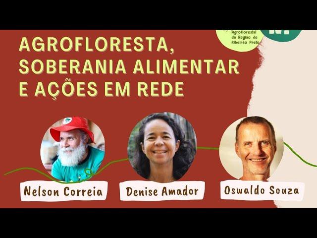 Agrofloresta, soberania alimentar e ações em rede // PorQueNão?