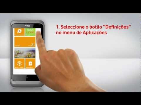 HTC Radar - Configuração de Wi-Fi
