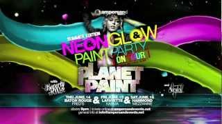 NeonGLOW Paint Party Tour ::  PLANET PAINT :: Baton Rouge 6/14, Lafayette 6/15, Hammond 6/16