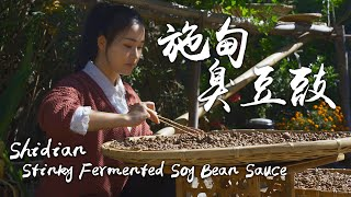 Shidian Stinky Fermented Soy Bean Sauce  Winter Delicacy Born from Straw Nest