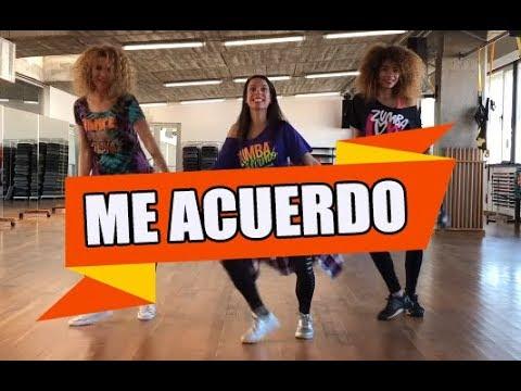 ME ACUERDO - Los 4 / ZUMBA con ALBA DURAN