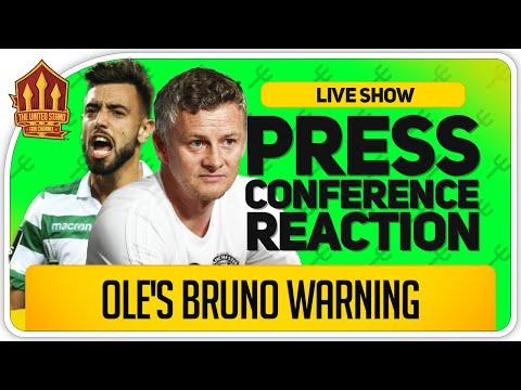 Solskjaer Bruno Fernandes Transfer Update! Manchester United Vs Wolves News
