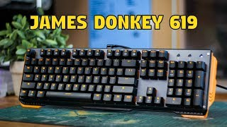 james Donkey 619 Mechanical Keyboard: Review