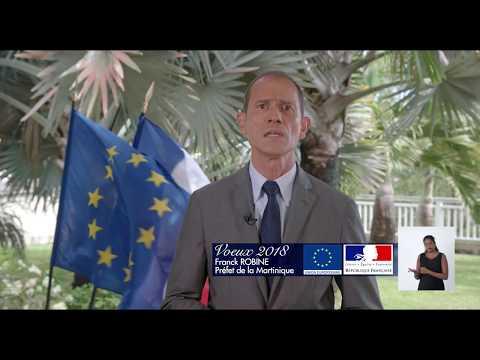 Martinique : Les vœux de la préfecture pour l'année 2018