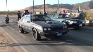 514 mercury capri VS 408 ford mustang
