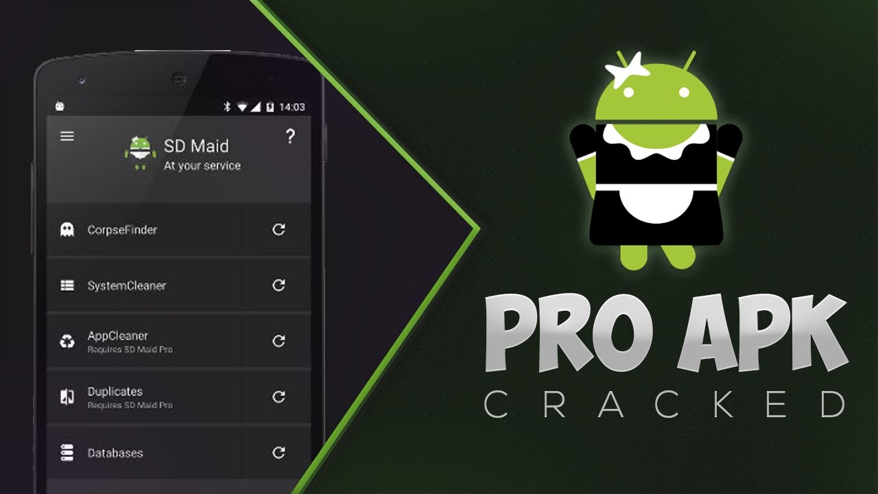 SD Maid Pro – System Cleaning Tool v4 6 4 Patched APK + Pro Key [ROOT] 2017