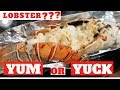 ALLERGIC to SEAFOODS ATE LOBSTER for the FIRST TIME | HARBOR RESTAURANT in Qatar